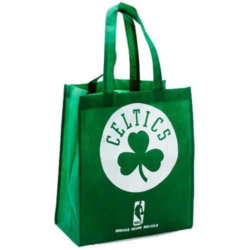 Boston Celtics Printed Non-Woven Polypropylene Reusable Grocery Tote Bag