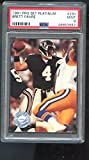 1991 Pro Set Platinum #290 Brett Favre ROOKIE RC MINT PSA 9 Graded Football Card ProSet. rookie card picture