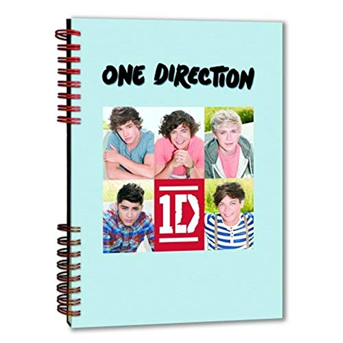 One Direction - Notizbuch Band 2 (in DinA5)