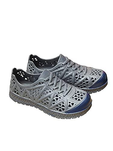 [ネルロッソ] 靴 メンズ シューズ スニーカー スリッポン サンダル メンズ 大きいサイズ オフィス カジュアル 軽量 正規品 25.0cm(40) グレー cmv24188-40-gy