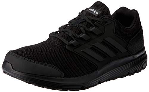 adidas Galaxy 4 m, Zapatillas de Entrenamiento para Hombre, Negro Core Black 0, 45 1/3 EU
