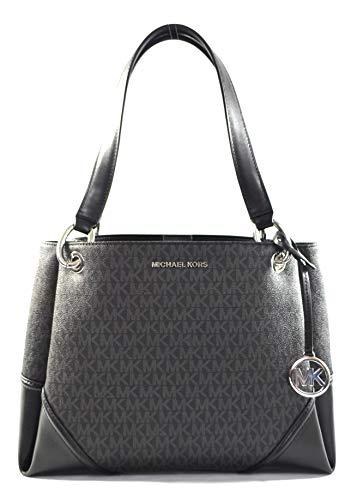 Michael Kors Women's Nicole Large Shoulder Bag Tote Purse Handbag (Blossom Multi)