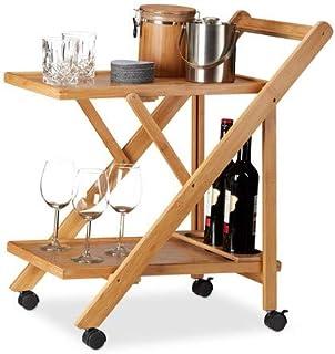 Amazon Fr Table Roulante Pliante