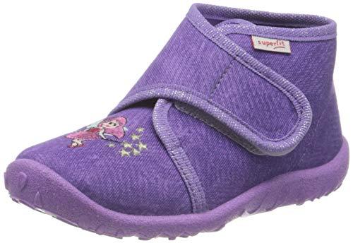 Superfit Baby - Mädchen, Hausschuh, Violett(LILA 9000), 20 EU