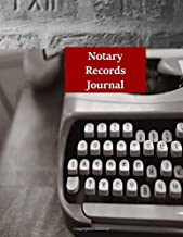 Notary Records Journal: Notary Log Book