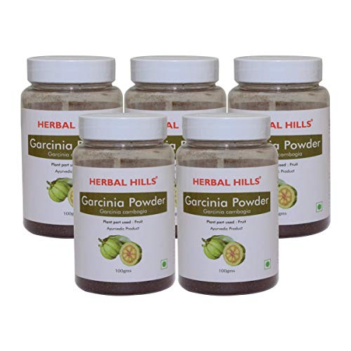 Herbal Hills Garcinia Powder – 100 gms – Pack of 5 – garcinia cambogia ultra weight loss