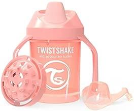 Twistshake 78278 Vaso con boquilla color pastel gris