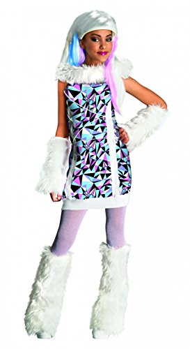 Generique - Déguisement Abbey Bominable Monster High Fille 8 à 10 Ans