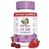 Lutein & Zeaxanthin Eye Vitamins by MaryRuth's, Plant Based Eye Care Supplement, Sugar Free, Vegan, Paleo Friendly, Celiac Friendly, 45 Day Supply (90 Gummies)