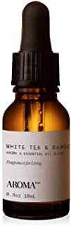 White Tea and Bamboo for Aroma Oil Scent Diffusers - 10 Milliliter