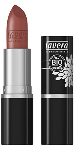 lavera Lippenstift Beautiful Lips Colour Intense ∙ Farbe Modern Camel ∙ zart & cremig ∙ Natural & innovative Make up ✔ Bio Pflanzenwirkstoffe ∙ Lipstick ∙ Naturkosmetik 1er Pack (1 x 5 g)
