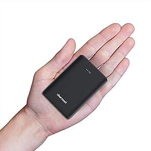 Charmast Mini PowerBank 10400mAh Batería Externa Carga Rápida Power Delivery Portable PD USB con 2 Entradas/3 Salidas 5V 3A para iPhone, iPad, iPad Pro, MacBook, Samsung Laptop