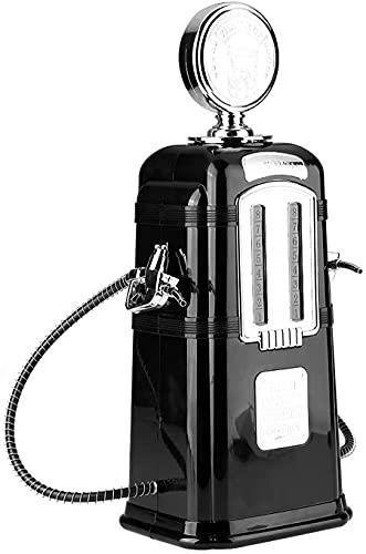 Kengsiren Dispensador de Bebidas Retro, dispensador de Cerveza de la Bomba de líquido de la Bomba de Doble Pistola para el dispensador de Bebidas del Partido, 1000cc