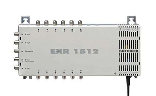 Kathrein EXR 1512 Satelliten-ZF-Verteilsystem-Multischalter (1 Satellit, 12 Teilnehmeranschlüsse, Klasse A)
