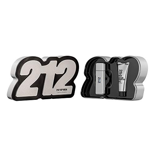 Carolina Herrera 212 Vip Men EDT-S y gel de ducha, 2,857 kg