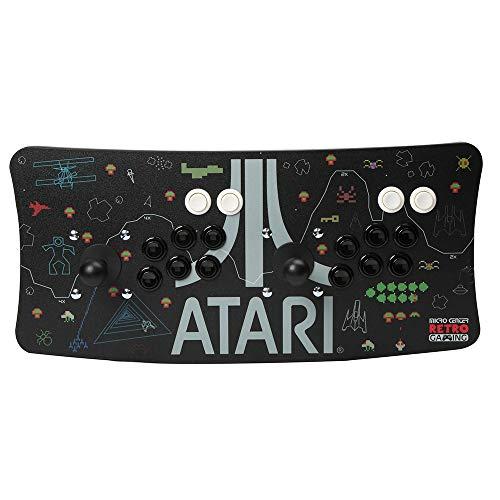 Atari Arcade Fightstick USB Dual Joystick 2 Player Game Controller for PC Mac Raspberry Pi Console Xbox PC Version PS3