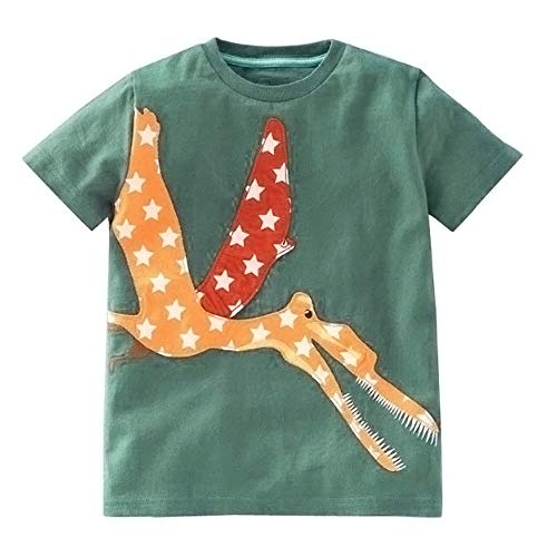 Great Price! COPPEN Toddler Kids Baby Boys Girls Clothes Short Sleeve Cartoon Tops T-Shirt Blouse Ar...