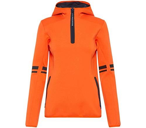 J.Lindeberg Logo Tech Femmes Sweat à Capuche XS Orange XS
