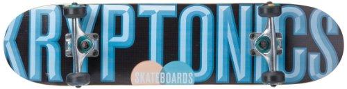 Kryptonics Skateboard Charge, blau/schwarz, SK12148959