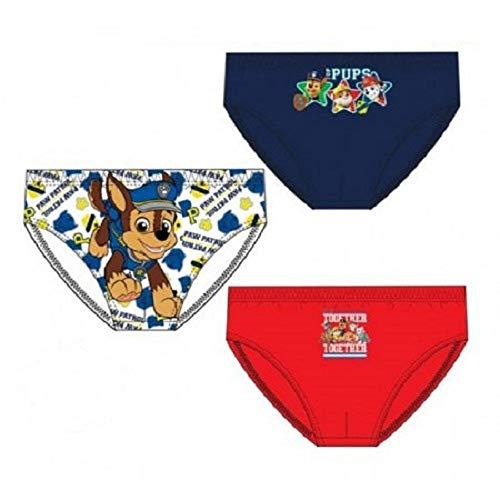 Lot de 3 slips Pat' Patrouille - Multicolore - 4-5 ans