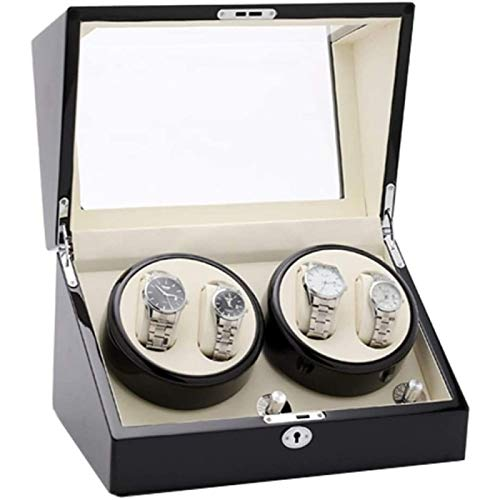 ZHANG Caja de Almacenamiento de Relojes Exhibición de Relojes Relojes Automáticos con Almohada Suave y Flexible Adecuado para Damas para Guardar Relojes Joyas