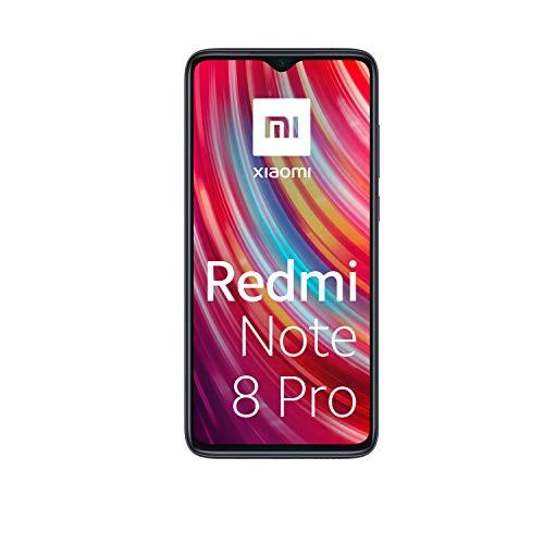 Xiaomi Redmi Note 8 Pro 6 Go Smartphone, 6 GB + 128 GB, Grigio (Mineral Grey)