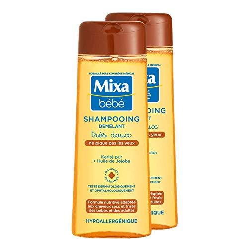 Mixa bebe Shampooing demelant tres doux 2er (2 x 250 ml)