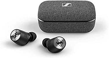 Sennheiser M3IETW2 Momentum True Wireless 2 Bluetooth Earbuds with Active Noise Cancellation - Black, 508674
