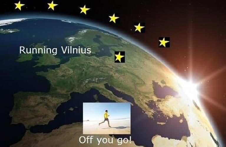 Running Vilnius (Running the EU Book 26) (English Edition)