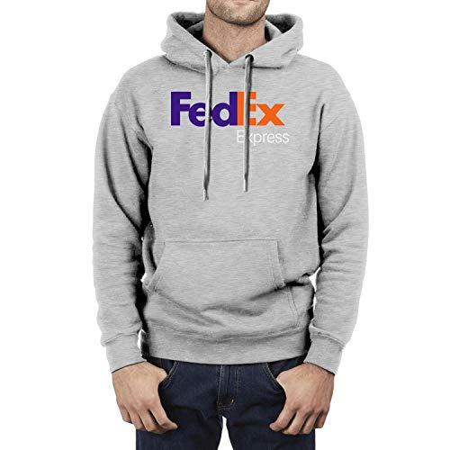 Just Hiker Mens Fashion Hooded Sweatshirt FedEx-Express-Logo-Symbol- Washington Pullover Hoodie