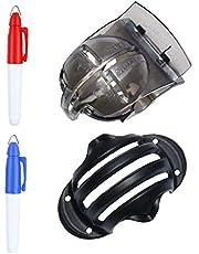 Golfboll Alignment Tool linje Liner Kit med märks Clip golfboll Marker Pen för Golftillbehör Fun Outdoor/Lagsporter 1Ställ