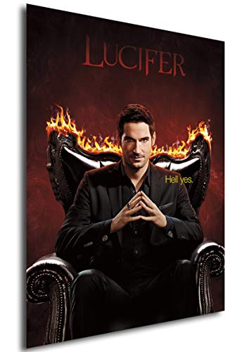 Instabuy Posters Poster - Lucifer - Season 3 - Size (42x30 cm)