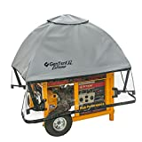 GenTent XL Generator Running Cover - Universal Kit (Extreme, Grey) - for Open Frame Generators