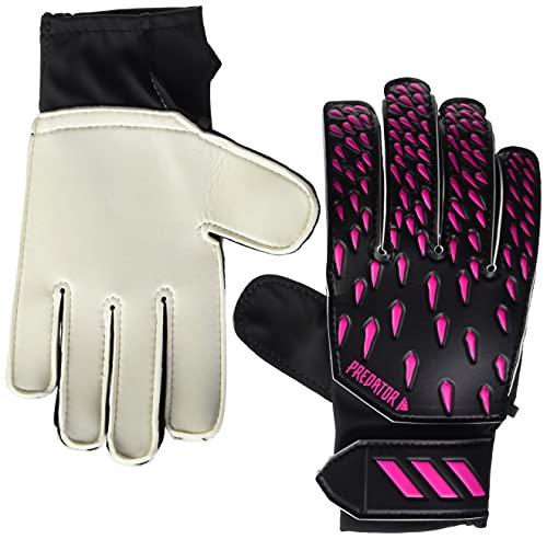 adidas Predator Training Glove,Black/Shock Pink,7 (unisex-child) Youth