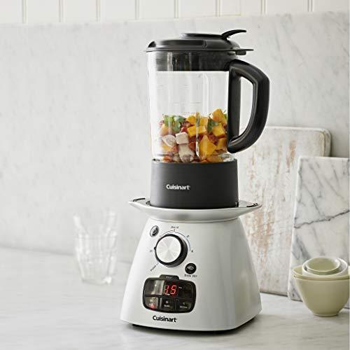 Cuisinart Soup Maker Plus | Saute, Cook, Stir, Blend | Silver | SSB3U