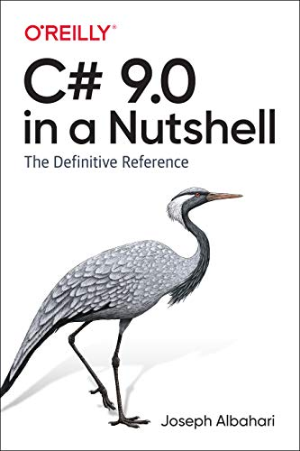 C# 9.0 in a Nutshell: The Definitive Reference Front Cover