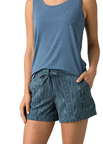 prAna Arlie - Pantalón corto para mujer -  Azul -  Large