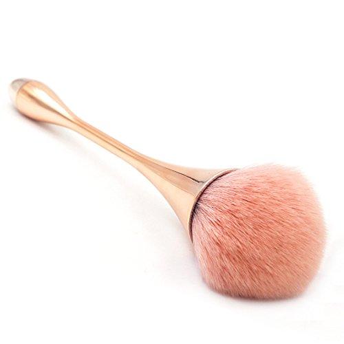 Naisicatar Pinceau de Maquillage Gouttes d'eau Professionnel Blending Blush Concealer Yeux Visage Liquide Poudre Crème Cosmétiques Lèvres Brosse Outil Pinceaux Kit # Gouttes d'eau # X 1