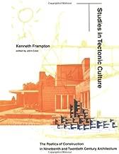 Best studies in tectonic culture Reviews
