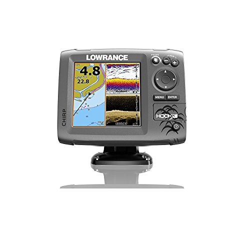 Lowrance Hook-5 Sonar/GPS Mid/High/Downscan Fishfinder