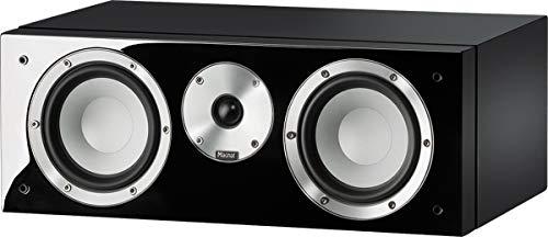 Magnat Quantum Center 73   1 Stück 2 Wege-Center-Lautsprecher mit hochwertigem HiFi-Sound   Perfekte Heimkino-Erweiterung für das Stereo-System, Farben:Schwarz