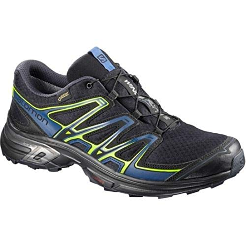 Salomon Wings Flyte 2, Scarpe da Trail Running Uomo, Blu (Night Sky/Snorkel Blue/Graphite 000), 44 EU