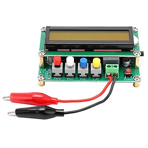 Medidor de capacitancia, herramienta de medición de inductancia Probador de inductancia digital multifunción con pantalla LCD para modo de interruptor Transformador de potencia para hornos