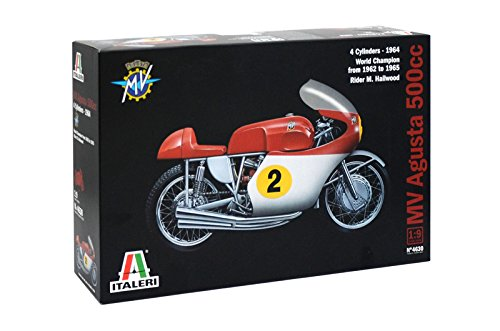 Italeri 4630 - Mv Agusta 500cc  4 Cylinders 1964 Model Kit  Scala 1:9