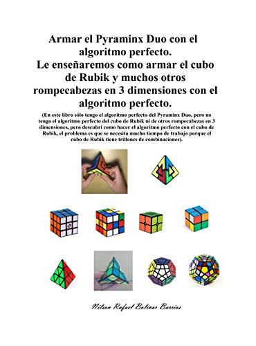 Armar el Pyraminx Duo con el algoritmo perfecto. Le enseñaremos como armar el cubo de Rubik y muchos otros rompecabezas en 3 dimensiones con el algoritmo perfecto.