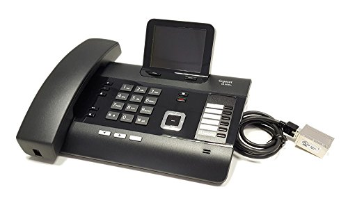 Gigaset DL500A modifiziert - mit DHSG/EHS Headsetschnittstelle - Kompatibel mit Plantronics, Jabra, Sennheiser