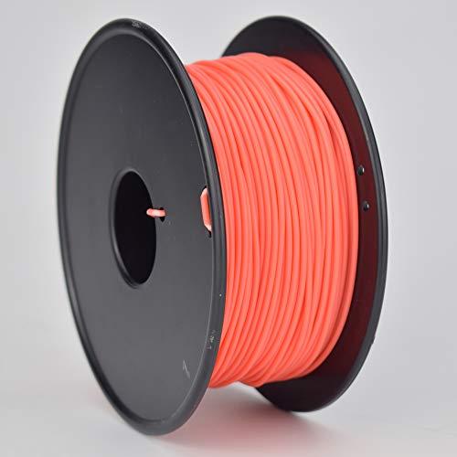 Easythreed 3D Printer Filament,PLA Filament 1.75mm, PLA 3D Printer Filament for 3D Printer 3D Pen, PLA Filament PLA Red