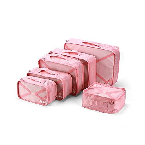 YAYS Organizador de Maleta Bolsa,Organizadores de Viajes,Organizador de Maleta Bolsas,Viaje Bolsas de Almacenamiento,Fácil de Organizar,Organizadores para Maletas,Travel Packing Cubes.