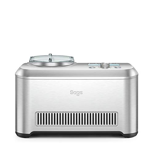 Sage BCI600UK the Smart Scoop Ice Cream Maker - Silver