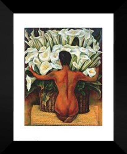 Diego Rivera FRAMED Art 20x24